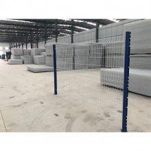 河南双边丝护栏网 安平护栏网配件电话 涂塑机场隔离网