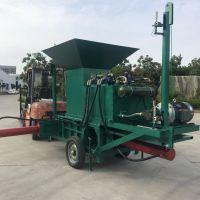 湘潭市减少秸秆焚烧污染卧式打包机 青贮微贮秸秆利用设备
