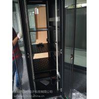 深圳【图腾机柜800*600*2米】网络服务器机柜42U前后网孔门