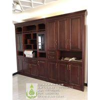 长沙实木梳妆台、书桌定制 实木家具定制设计 整体实木家具工厂