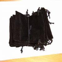 供应深圳绒布袋 拉绳束口绒布袋 颜色按客户要求