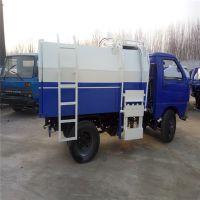 沧州绿美供应四轮挂桶垃圾车 自装卸挂桶式小型垃圾车 勾臂式垃圾车厂家批发