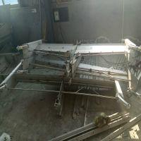 猪舍一拖三刮粪机 不锈钢焊接一体化更坚固耐腐蚀30年