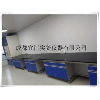 四川资中钢木实验边台,隆昌生物实验台价格,宜恒净化工作台