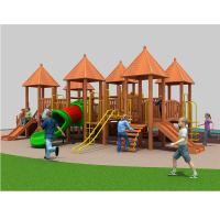 上海以伦游乐供应进口木质组合滑梯YL18-18601儿童滑梯幼儿园课桌椅,玩具架,书架,收纳箱等