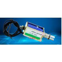 中西(LQS特价)直流电磁铁 电磁铁推拉 门锁电磁铁 型号:XRN-0630T库号:M630