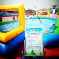郑州易欣世界杯充气足球场水上足球儿童小足球气模户外拓展青少年中年游乐