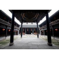 中式茶艺馆装修风格用铝合金门窗花格