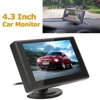 远驰视讯GP4301D 4.3寸镜面微型显示屏监控器,高清视频倒车影像
