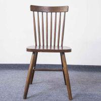 众美德厂家定制餐厅铁艺新款铁艺温莎圈椅 餐桌餐椅咖啡复古椅子