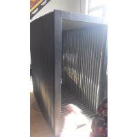 门窗机械风琴防护罩 机床钢板阻燃风琴防护罩 平面磨床风琴防护罩