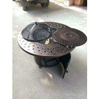 厂家直销 户外休闲桌椅 庭院铸铝烧烤桌椅 1桌6椅包邮