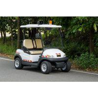 卓越定制款物业巡逻电瓶观光白色四轮电动车巡逻车电动车
