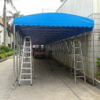 南宁移动式遮阳棚汽车帐篷加固活动雨棚大型仓库篷装卸货蓬帆布雨棚