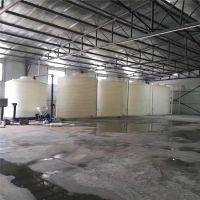 重庆10吨减水剂复配罐耐酸碱防腐蚀储罐盐酸储罐厂家