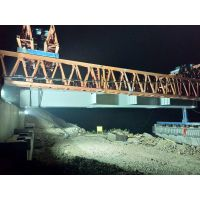 中建三局张家口石门特大桥3号梁场QJ300/50架桥机