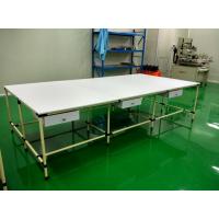东莞帝腾专业设计各种非标柔性管操作台/精益管工作台/双层工作台