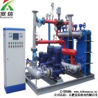 水水板式换热机组 智能换热机组上海、湖北换热机组 宽信供