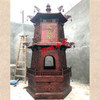 禅相法器定做福建香炉价格、福清二层烧纸元宝炉图片