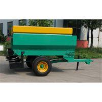 大容量农家肥撒播机配套拖拉机带的液压式牛羊鸡粪扬肥车大型撒肥机械
