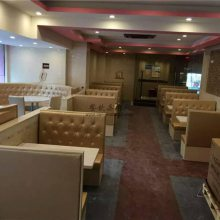 中山港式茶餐厅卡座沙发桌椅家具定制,时尚北欧风格餐饮家具组合