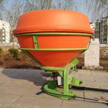 750公斤尿素肥抛撒机圆盘式农用甩肥机 志成车载式施肥器