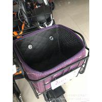 车筐车篮子电动自行车篓子车篮防漏电车电动车加厚內篓一件代发