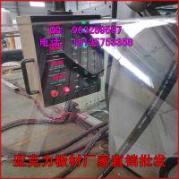 厂家直销有机玻璃板 透明亚克力大量接单 尺寸厚度定做【PS有机板