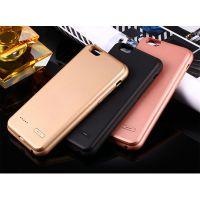 苹果6苹果7 plus背夹电池 无下巴硅胶壳 可以充电手机壳 私模专利