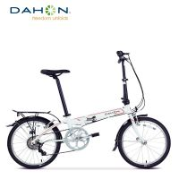 DAHON大行折叠自行车 20寸7速铬锰钢成人男女士折叠车单车D7 KAC072