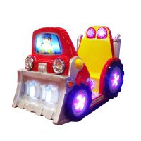 供应铲车 新款 摇摆机互动游戏 日东动漫科技 摇摆互动益智类游戏