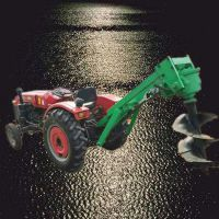 电线杆地钻钻孔机 汽油种树植树挖坑机厂家 佳鑫植树挖树坑机