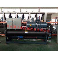 昆山塑料行业集中控温用螺杆式冷水机