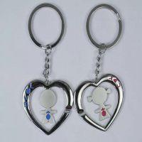 公司LOGO钥匙链 周年庆典钥匙扣 纪念活动金属钥匙扣 定制金属挂件