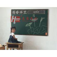珠海推拉绿板Z揭阳挂式树脂磁性绿板H可移除绿板擦写贴