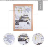 创意个性壁画饭厅挂画 景德镇瓷板画定制厂家价格