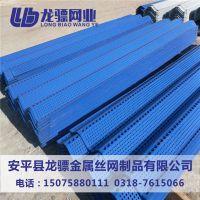 洗煤厂防风抑尘网 镀锌板冲孔网 镀锌板冲孔网挡墙