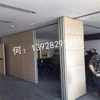 【高优隔断】活动隔断 皮硬包活动屏风隔断墙85型 四川饭店餐厅折叠推拉移门厂家定制