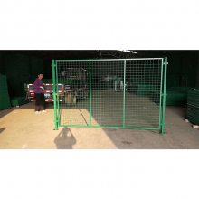绿色边框护栏网 铁丝网价格和图片 养殖铁丝网围栏