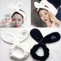 厂家直销韩版法兰绒兔子耳朵发带 高俊熙同款洗脸化妆发箍束发带