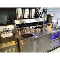 奶茶水吧全套设备/汉堡炸鸡全套机器 全味皇后奶茶加盟店用什么