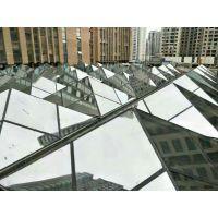 陕西玻璃采光顶设计施工