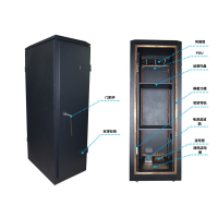 安方高科 四门防磁泄露电磁屏蔽机柜 加工定制 厂家报价