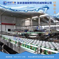 豆奶易拉罐灌装设备 植物饮料易拉罐生产线 苏打水易拉罐灌装机