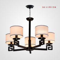中式吸顶灯客厅餐厅铁艺卧室客厅中国风简约酒店会所创意古典吸顶灯饰