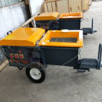 内外墙面水泥砂浆喷涂机 保温颗粒喷涂设备昊鹏提供