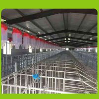 羊场全自动刮粪机 全自动喂猪料线 玻璃钢料塔 送货上门
