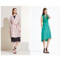 杭州时尚简约女装尤西子2018夏装尾货,在广州惠汇可以低价拿到哦