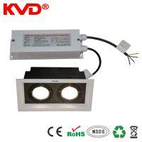 KVD188D led外置驱动电源室内灯具双头筒灯开关电源CE认证