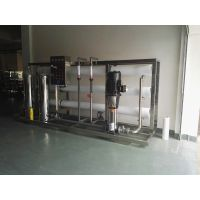 广州化妆品工艺用反渗透设备 1吨双级纯水设备 RO水处理装置